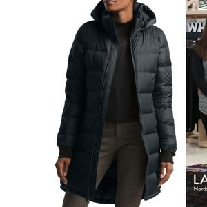 The north face hooded water resistant parka